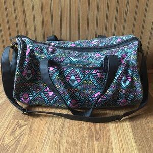 Multi-colored Small Duffel-style Bag Mossimo